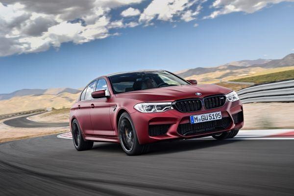 New BMW M5 E90