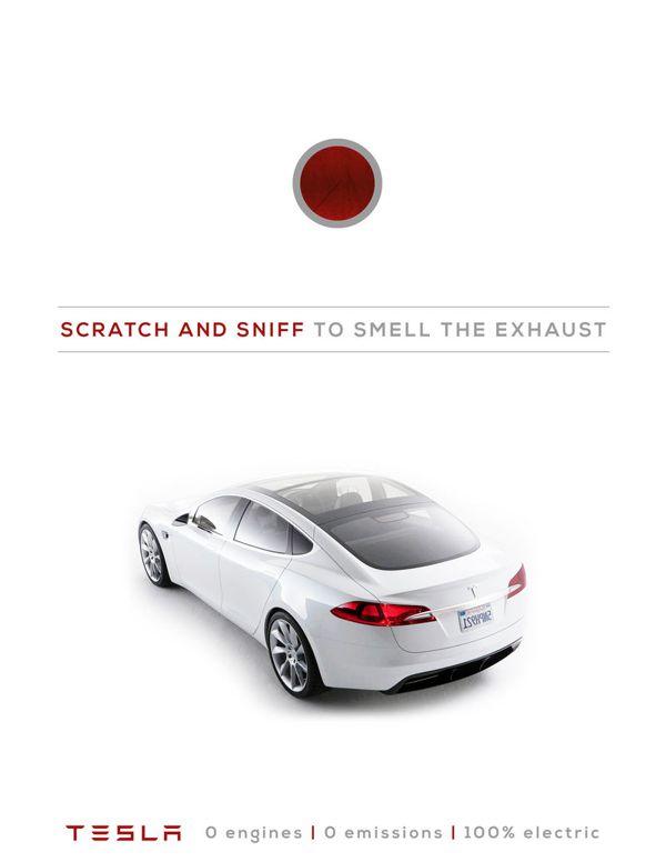 Clever Tesla Ads