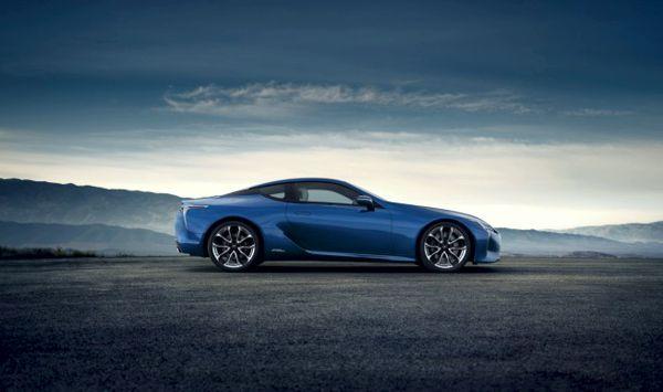 Lexus LC 500 Structural Blue