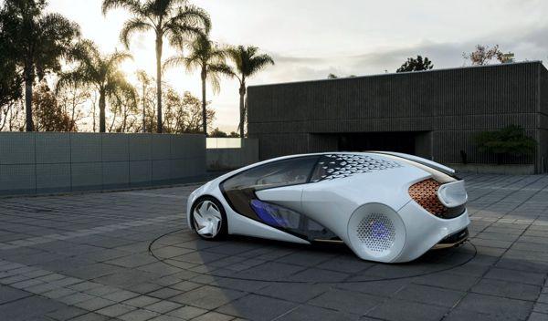 Toyota Concept-i AI Vehicles
