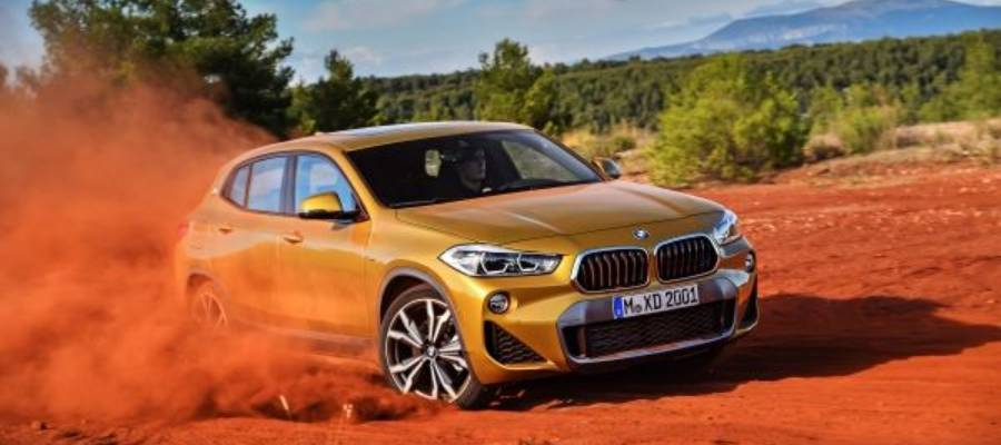 BMW X2 Compact SUV Revealed with Bold New Styling