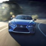 Lexus LC 500 Painted with Blue 'Butterfly-Inspired' Paint Technology