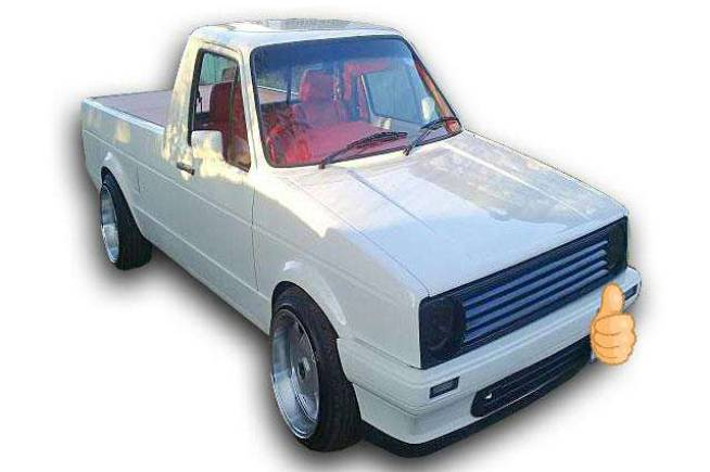 1987 VW Caddy 2.0 8V Turbo